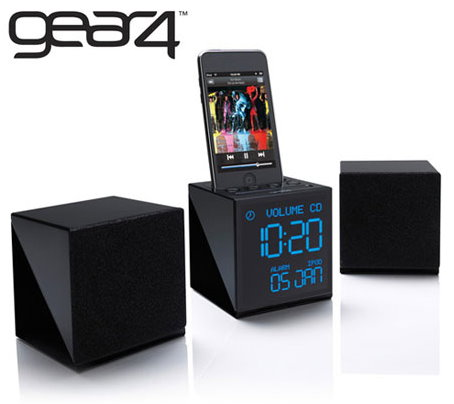 Gear4 Alarm Clock Radio for Your iPhone or iPod