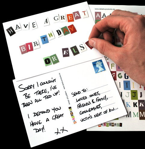 Ladies' GadgetsMake Your Postcards Look Like Ransom Notes - Ladies ...