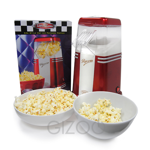 Small and Compact Hot Air Popcorn Maker