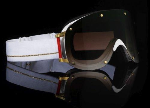 YNIQ Model Four White Gold Designer Goggles