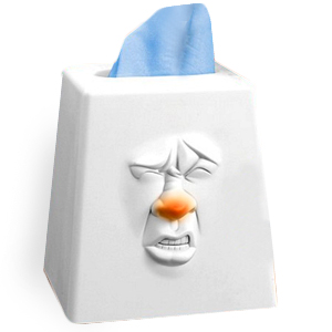 Funny Tissue Box Sneezes and Coughs