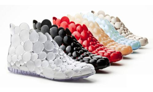 Customizable Shoes by Melissa and Gaetano Pesce