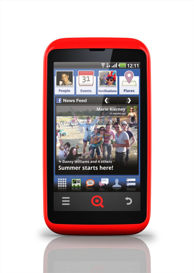 INQ Cloud Touch Social Phone With Android