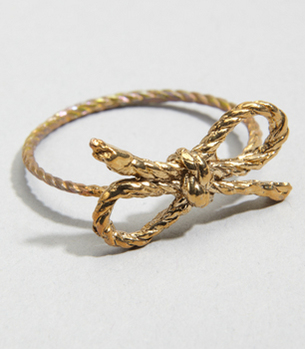 Tiffany Forget Me Knot Ring
