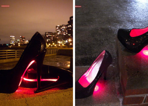 YIFANG WANG x SAMUEL YANG Simulation led shoes | TEST