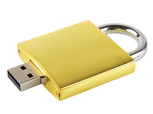 USB Flash Drive Shaped Like a Lock