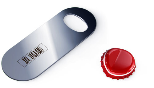 Art Lebedev Ctrl O Bottle Opener