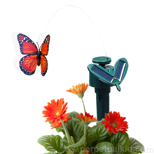 Decorate Your Garden With Solar Butterflies