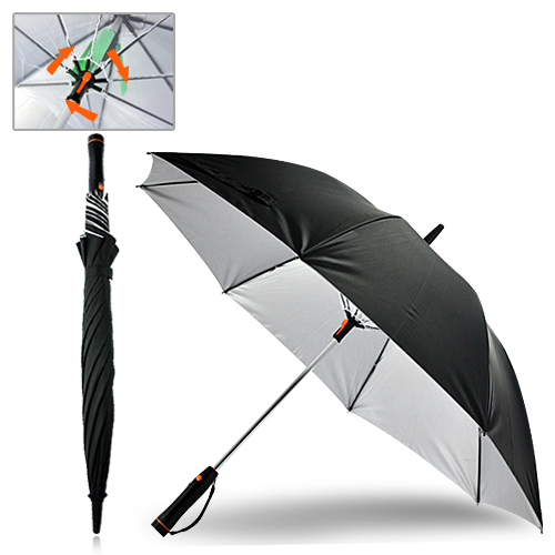 Fanbrella Sun Umbrella With Built in Fan