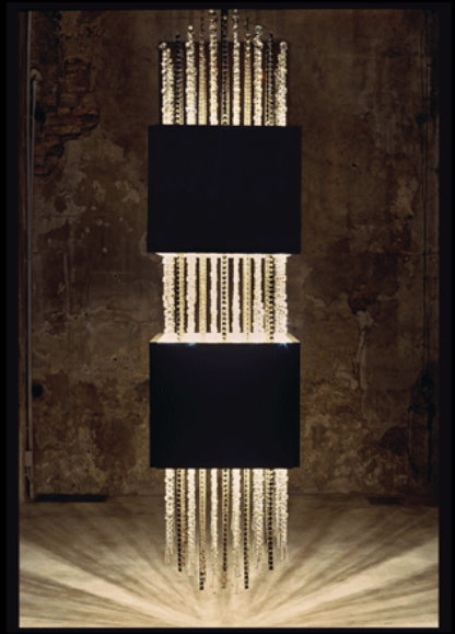 The New Swarovski Chandeliers Impress at Euroluce