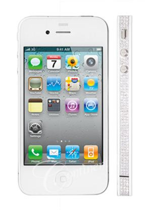 White Diamond iPhone 4 From Continental Mobiles