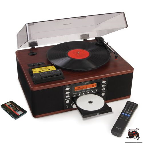 LP And Cassette To CD Converter