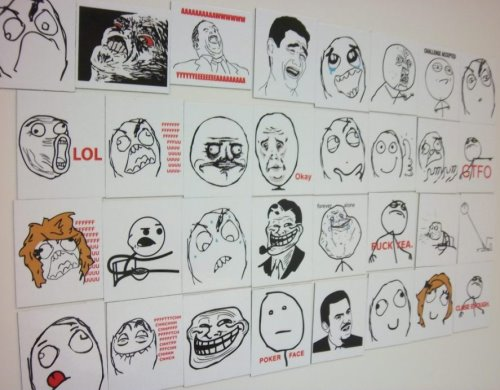Rage Faces Magnetic Meme