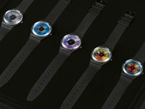 Swatch and Rankin Released Limited Edition Watches Resembling Eye Irises