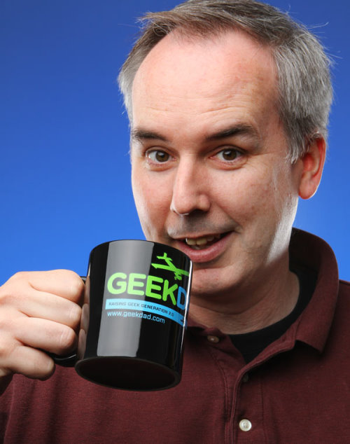 The GeekDad Coffee Mug