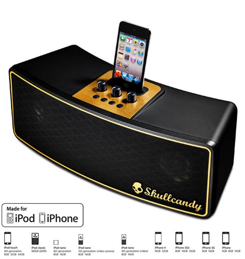 Vandal Speaker Dock From Skullcandy