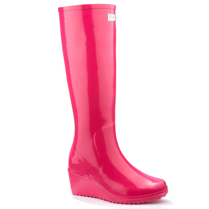 Wellington Rubber Boots Now With Wedge