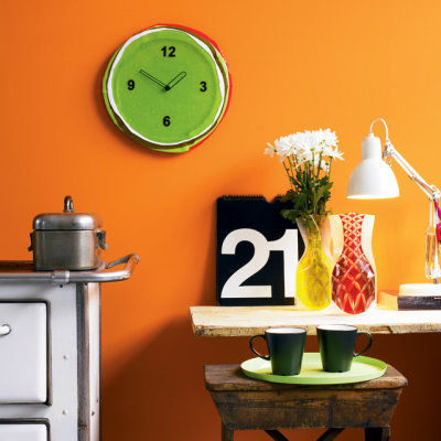 Diamanti Domeniconi Giove Glass Clock