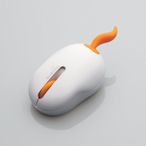 Elecom Oppopet is a Cute Wireless Mouse by Nendo