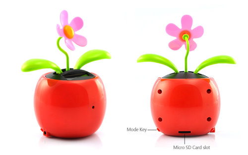 The Flip Flap Dancing Flower Now With HD Spy Camera