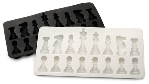 The Ice Chess Set Speeds up the Game