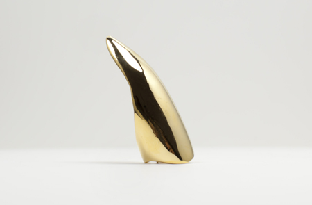 14k Gold Plated Hither Claw Ring