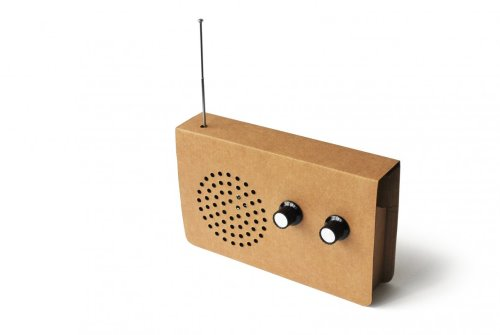 Cardboard Radio by Christopher McNicholl