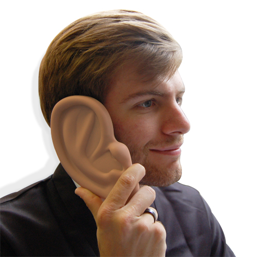 Giant Ear Case for iPhone 4