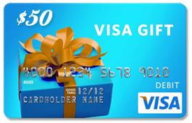 The $50 Visa Gift Card Winner