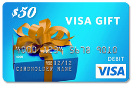 Win a $50 Visa Gift Card and buy Some Cool Stuff for Yourself This Summer s end