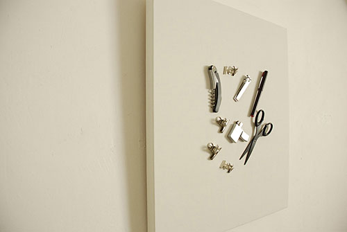 Wall Canvas Magnetic Tray Holds Your Tools