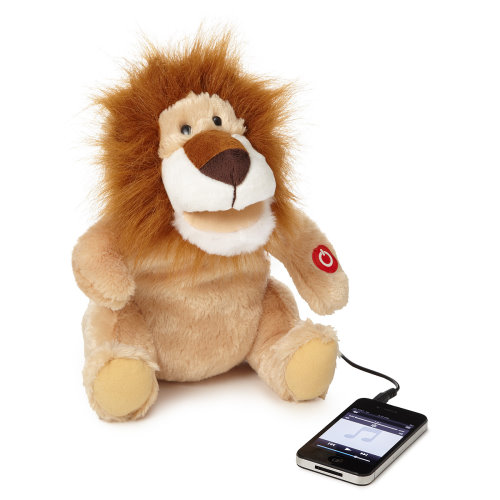 Dancing Lion as a Toy and External Speaker