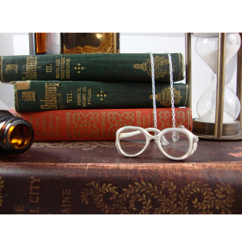 Lola Granny Glass Necklace by Jennifer Monzon