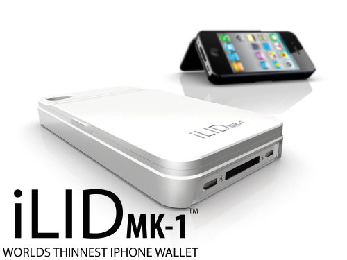 iLID Carries Your Keys Cards and Money on Your iPhone