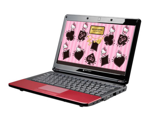 Hello Kitty Luvbook S Netbook
