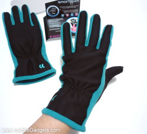 ISOTONER Womens smarTouch Stretch Fleece Lined Gloves Review