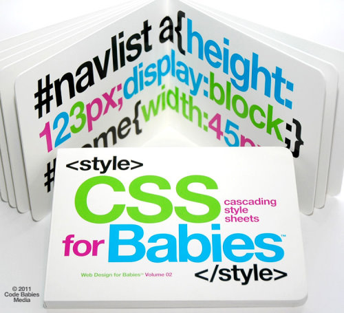 CSS for Babies Book