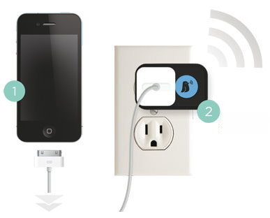 Perch The Chirping Charger Accessory