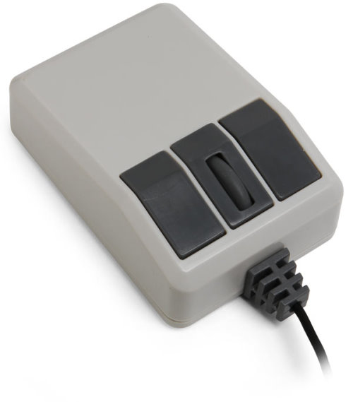 Retro USB Computer Mouse With Optical Tracking