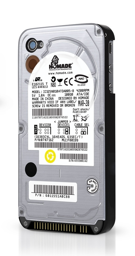 Hard Drive Cover for iPhone