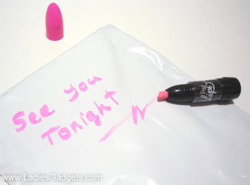 Read My Lips Mirror Marker Review