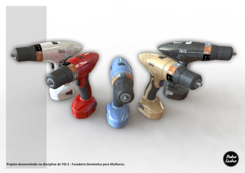 Interview with Pedro Henrique Castro About His Cordless Drill Concept for Women