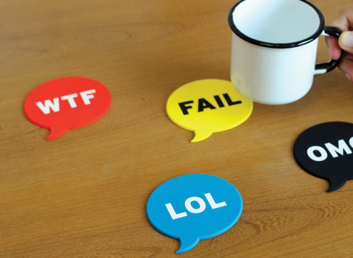 LOL OMG FAIL WTF Coasters