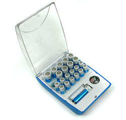 Batteries Organizer and Tester