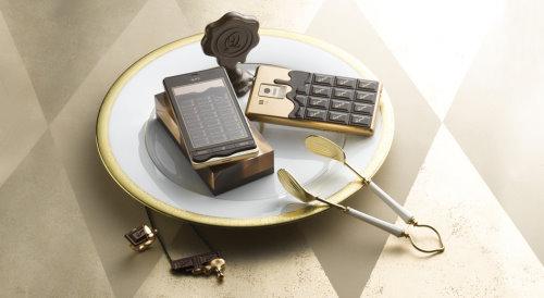Q Pot SH 04D Chocolate Smartphone