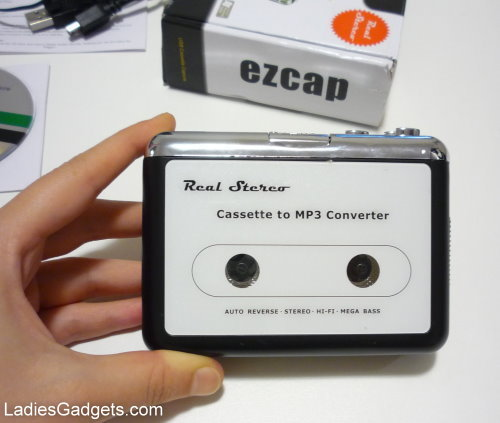 Stereo USB Cassette Capture Device Hands on Review