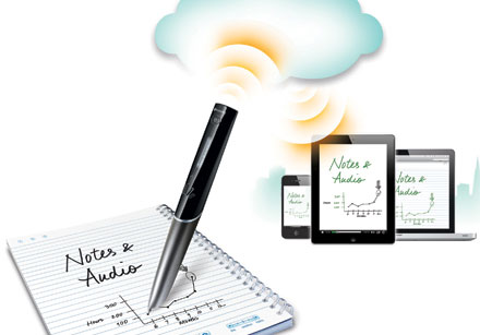 Livescribe Sky WiFi Smartpen Records Everything Your Handwrite