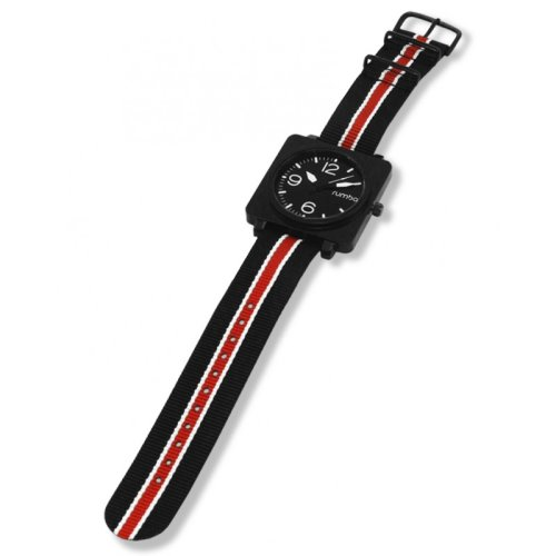 Hudson Nylon Lights Out Watches From Rumba Time