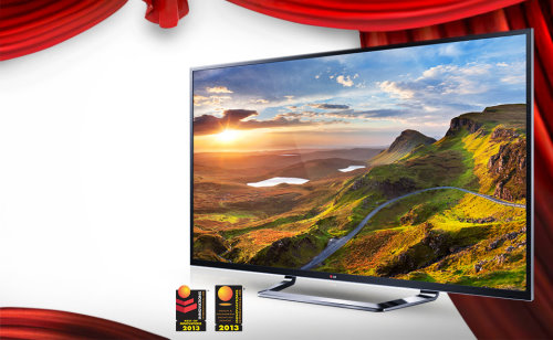 LG Ultra-High-Definition CINEMA 3D Smart TV