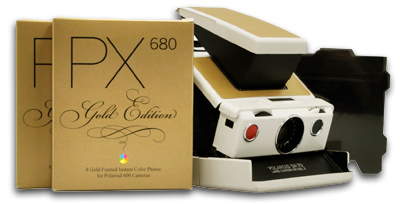 Polaroid SX 70 Gold Edition (1)